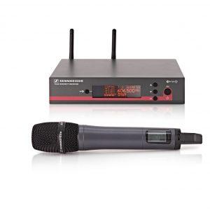 Belaidis vokalinis mikrofonas – Sennheiser EW135 G3 & E835