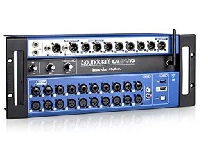 Soundcraft Ui24R Digital Mixer 20-IN, 8-OUT