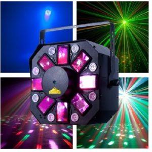 Šviesos efektas, spalvoti gobai, lazeris, UV – ADJ Stinger II