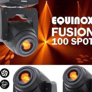 Spot tipo judanti galva – Equinox Fusion 100