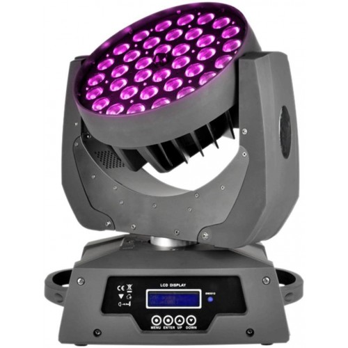 LED Zoom Moving Head RGBWA+UV 6IN1, LED judanti galva, turime 4vnt.