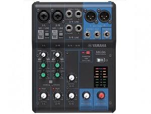 Yamaha MG06 4 kanalų Stereo garso pultelis