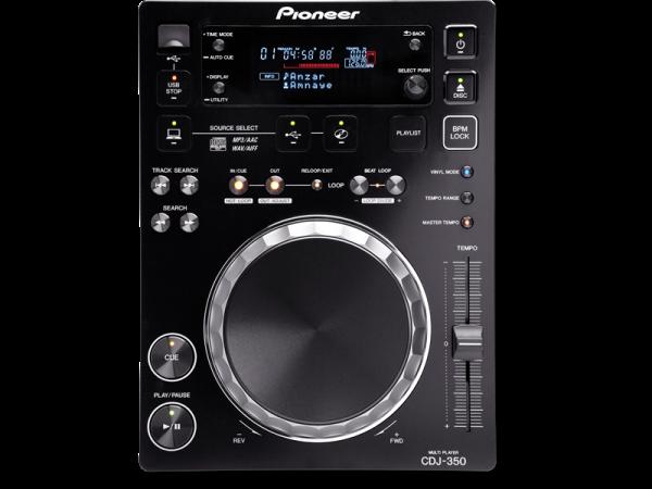Pioneer CDJ-350 DJ grotuvas, galima groti iš USB, CD, PC