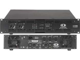 Dynacord LX 2200 koncertinis stiprintuvas 1400W/4ohm.