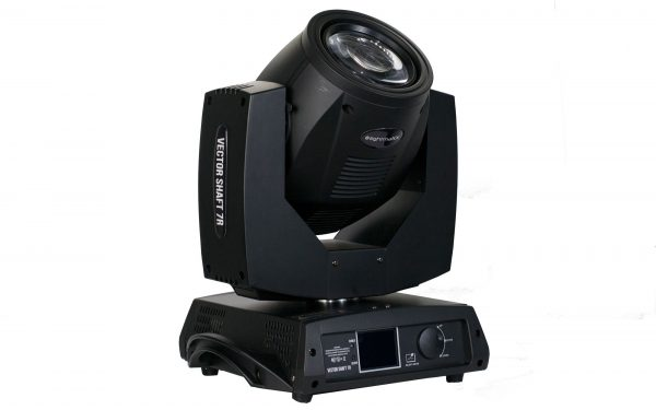 Lightmaxx Vector Shaft 7R Moving Head Beam Light. Turime 4vnt.