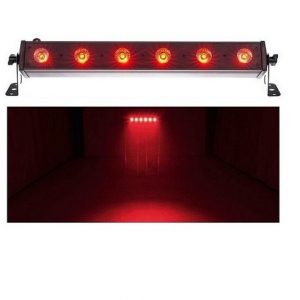 Led Bar efektas, šviestuvas – Eurolite LED Bar-6 QCL RGBW